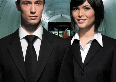 Man-women-black-suit