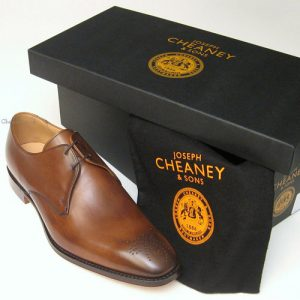 liverpool cheaney mens shoes mahogany box